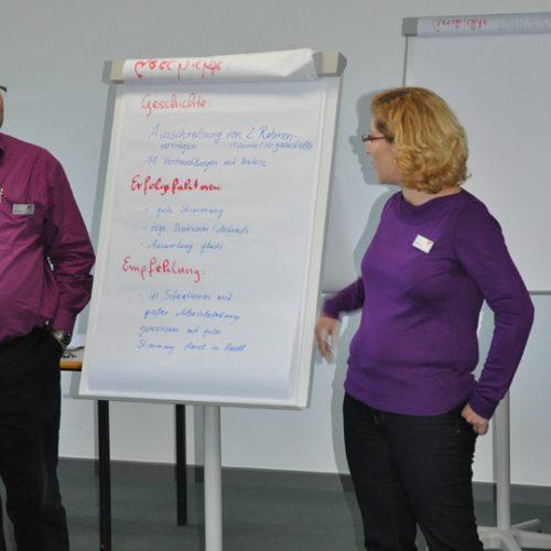 Moderation einer Abteilungsklausur oder Tagung mit der wertschätzenden Erkundung / Appreciative Inquiry